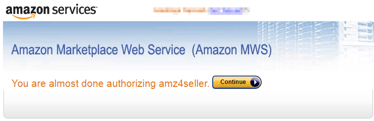 Amazon Marketplace Web Service (Amazon MWS)